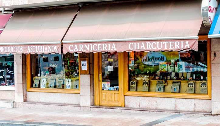 Carnicería Gran Vía, tienda de productos asturianos en Cangas de Onís