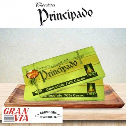 Chocolate 70% cacao Sabores del Principado 1Kg