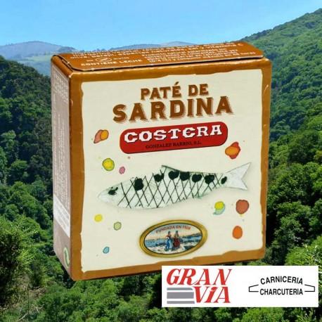 Paté de sardina del Cantábrico - Costera