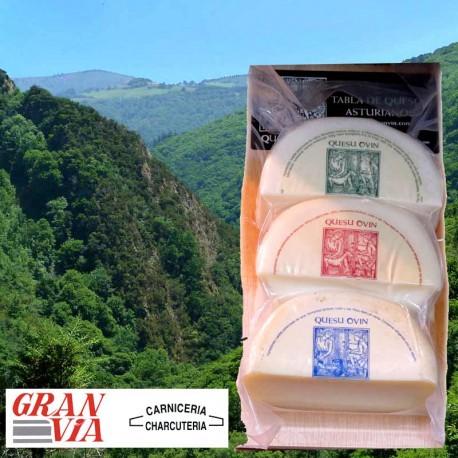 Tabla de queso asturiano Ovín