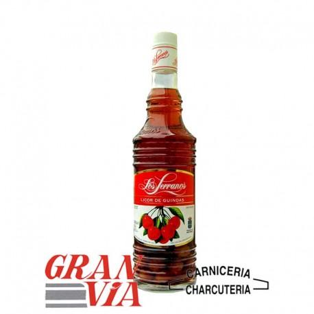 Licor de guindas Los Serranos 70 cl.