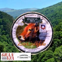 Queso artesano de vaca La Collada 400 gr.