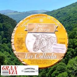 Queso artesano de oveja La Collada 400 gr.