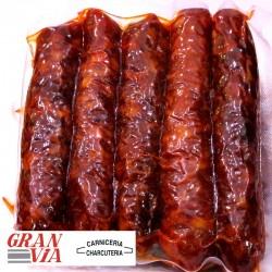 Chorizo asturiano casero de elaboración propia 5 unidades
