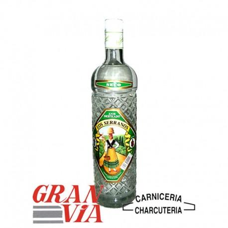 Anís seco destilado Los Serranos 1 litro