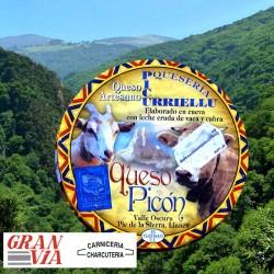 Queso azul de cabra y vaca Picu Urriellu 450gr.