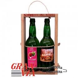 Sidra asturiana natural Casero Llagar 2 botellas
