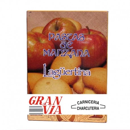Pastas de Manzana asturianas La Güertina Caja 300 gr.