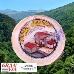 Queso asturiano artesano de vaca Caxigón 500 gr.