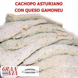 Cachopo asturiano de queso Gamoneu 400 gr.